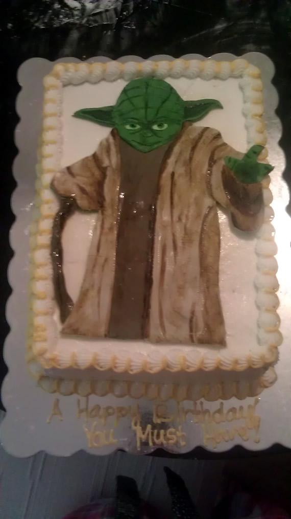 Yoda Birthday Cake Get Frosted